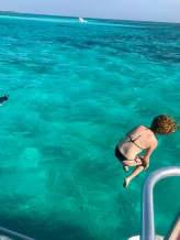 Jumping into fun in Grand Cayman